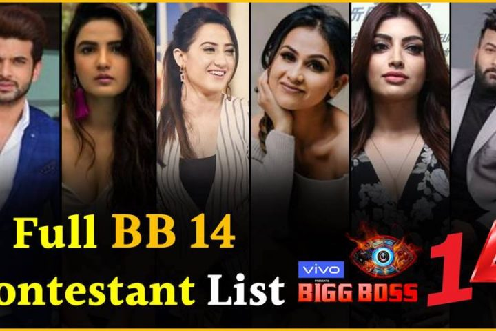 Bigg Boss Season 14 Contestants